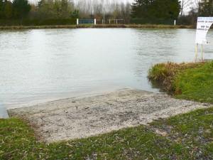 mise à l'eau piscine AAPPMA de nogent-sur-Seine
